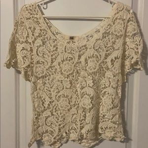 Small Forever 21 crochet top